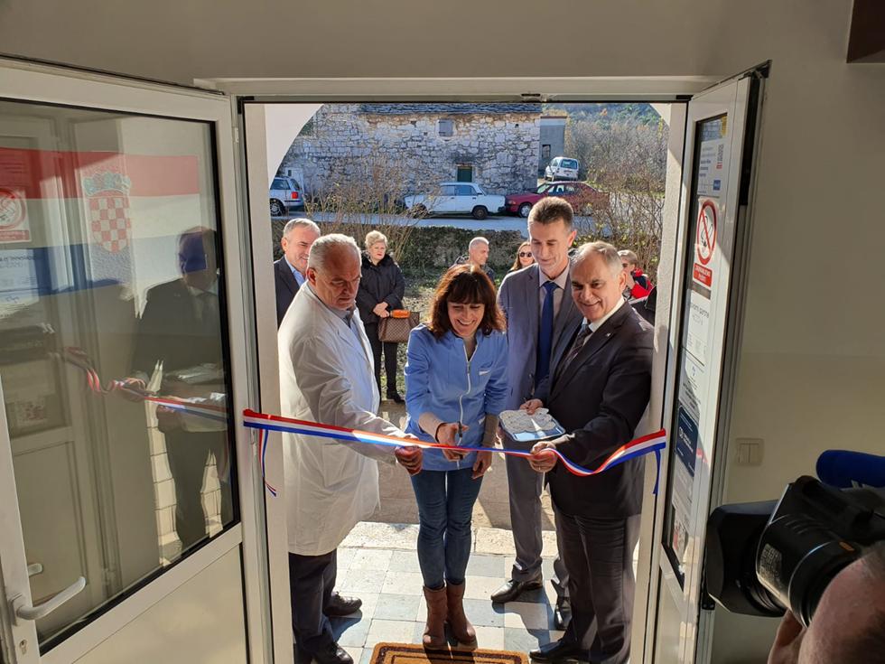 Svečano otvorena obnovljena ambulanta u Lećevici