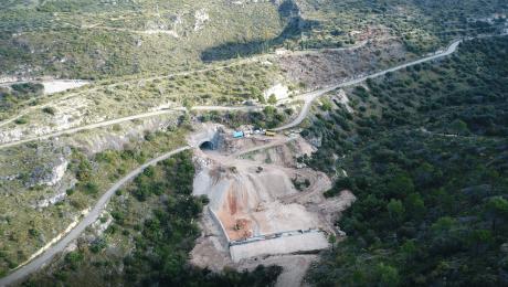 U tijeku izgradnja obilaznice Ložišća na Braču