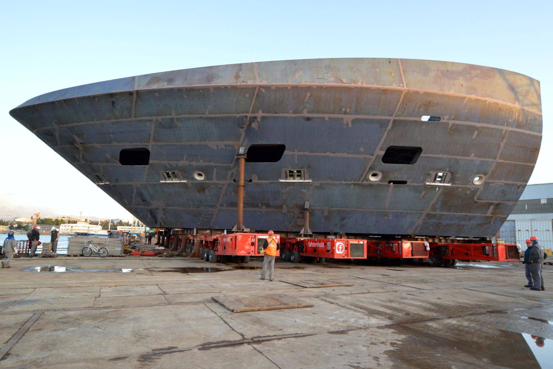 U Brodosplitu obavljena još jedna isporuka mega sekcija za grupaciju Fincantieri