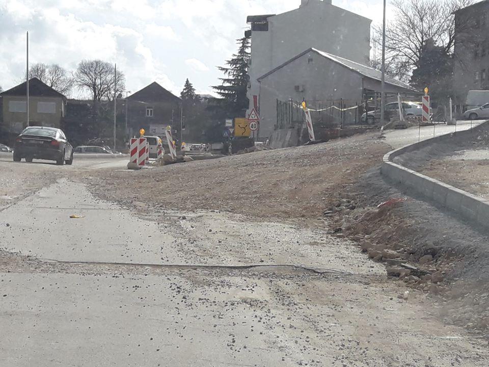 Rekonstrukcija ceste kroz Vrgorac