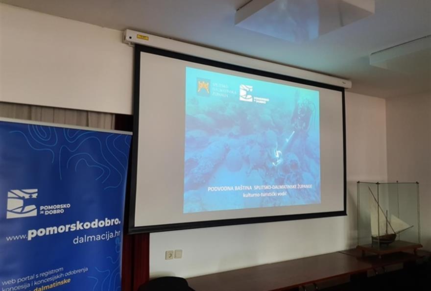 Splitsko dalmatinska županija predstavila vodič podmorskih lokaliteta