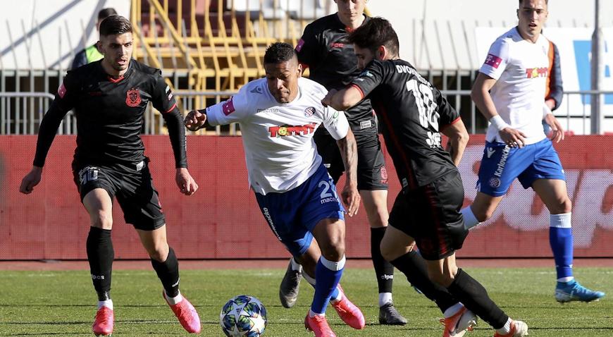 Golijada Hajduka protiv Gorice