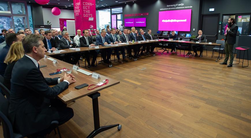 Hrvatski Telekom u naredne tri godine razvija optiku za 135.000 korisnika diljem Hrvatske