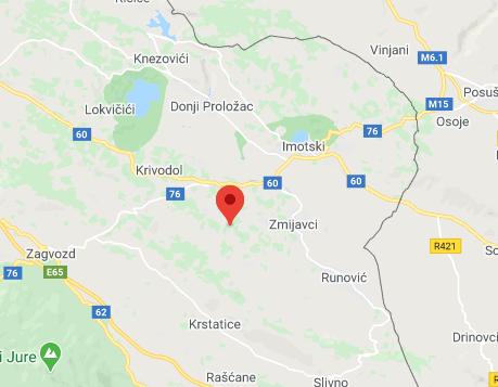 Potres na području Imotskog