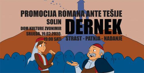 Promocija romana Dernek Ante Tešije u Solinu