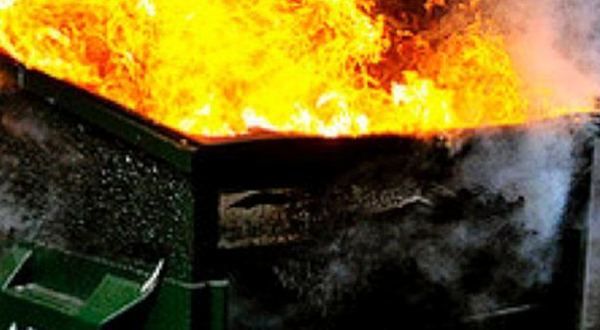Požar kontejnera zahvatio i dva vozila