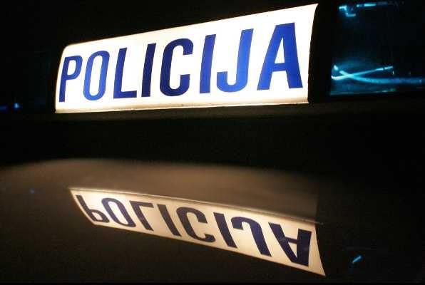 Sudar osobnog vozila i motora u Splitu